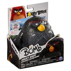 ANGRY BIRDS TALKATIVE BOMB BLACK FIGURES
