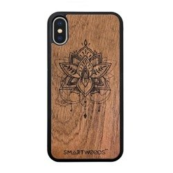 CASE WOODEN SMARTWOODS FLOWER OF LOTUS SAMSUNG GALAXY NOTE 10 PLUS