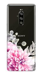 CaseGadget CASE OVERPRINT BRIGHT FLOWERS SONY XPERIA 1