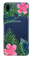 CaseGadget CASE OVERPRINT LEAVES AND FLOWERS SAMSUNG GALAXY A10S