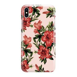 FUNNY CASE OVERPRINT RED FLOWERS HUAWEI P SMART Z