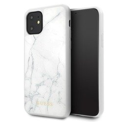 GUESS MARBLE CASE GUHCN65HYMAWH IPHONE 11 PRO MAX WHITE