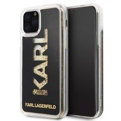 KARL LAGERFELD HARD CASE KARL LOGO GLITTER KLHCN58KAGBK IPHONE 11 PRO BLACK