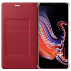 SAMSUNG LEATHER WALLET COVER EF-WN960LREGWW NOTE 9 RED