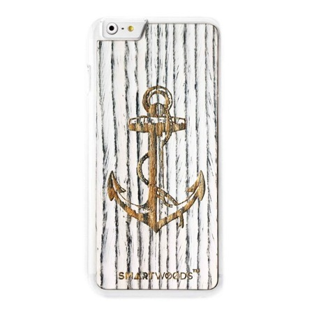 CASE WOODEN SMARTWOODS ANCHOR CLEAR IPHONE 6 PLUS / 6S PLUS