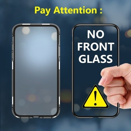 MAGNETIC CASE 360 FRONT + REAR SAMSUNG GALAXY S7 CLEAR