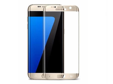 TEMPERED GLASS FULL SCREEN 3D SAMSUNG S7 EDGE gold
