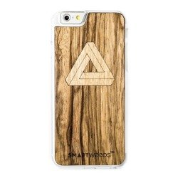 CASE ETUI DREWNIANE SMARTWOODS TRIANGLE CLEAR IPHONE 6 / 6S