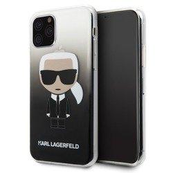 KARL LAGERFELD GRADIENT IKONIK KARL KLHCN58TRDFKBK IPHONE 11 PRO BLACK